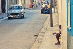 Le Cuba, ville de Matanzas Images libres de droits