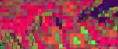Le cube abstrait 3d expulsent fond, graphique a expulsé illustration stock