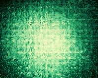 Le cube horizontal en vert olive 3d a expulsé backgrou abstrait de blocs Image libre de droits