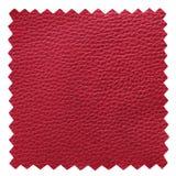 Le cuir rouge prélève la texture photos stock