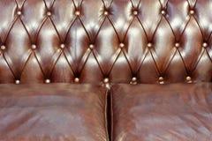 Le cuir tapissent Images libres de droits
