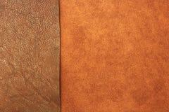 Différents types de fond en cuir de texture Image libre de droits