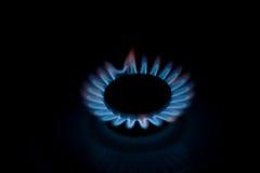 Le cuiseur de gaz de cuisine Photographie stock