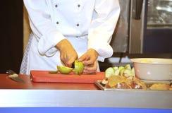 Le cuisinier Images stock