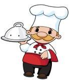 Le cuisinier Images libres de droits