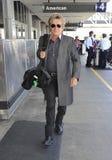 Le culbuteur Rod Stewart est vu chez LAX photographie stock libre de droits