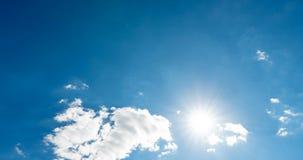 Le cumulus nuageux de laps de temps soul?ve le Time Lapse clips vidéos