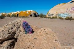 Le cupole in casa Arizona grande Immagine Stock