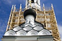 Le cupole della chiesa Fotografie Stock