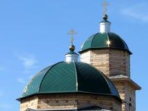Le cupole riflettono i raggi del ` s del sole immagine stock