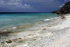 Le Curaçao - paradis lointain de plage image stock