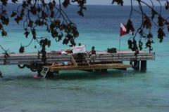 Le Curaçao, Westpunt photos libres de droits