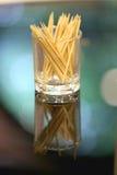 Le cure-dents en verre Photo libre de droits