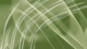 Le curve fotometriche su fondo verde scuro, bokeh accende comparire a caso, video del vfx del ciclo, metraggio astratto illustrazione di stock