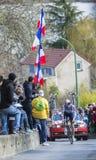 Le cycliste Adam Hansen - 2016 Paris-gentil Photo libre de droits
