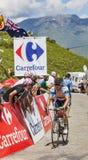 Le cycliste australien Simon Gerrans Photographie stock