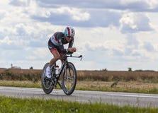 Le cycliste Christopher Horner photos stock