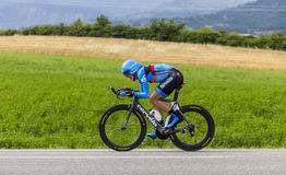 Le cycliste Daniel Martin Photo stock