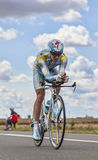 Le cycliste Fofonov Dmitriy Photo stock