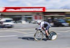 Le cycliste Gregory Rast - 2016 Paris-gentil photographie stock libre de droits