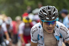 Le cycliste Hubert Dupont Image stock