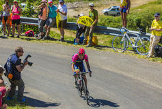 Le cycliste Jan Polanc - Tour de France 2016 Photographie stock
