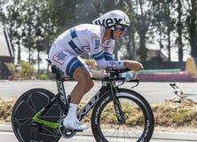 Le cycliste John Degenkolb Photographie stock libre de droits