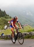 Le cycliste Maarten Tjallingii Photo libre de droits