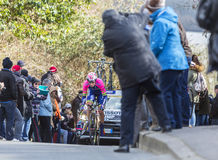 Le cycliste Marko Kump - 2016 Paris-gentil Photo stock