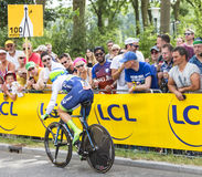 Le cycliste Michael Albasini - Tour de France 2015 Photo stock