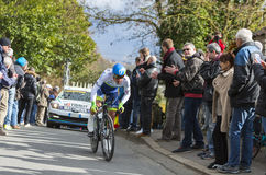 Le cycliste Michael Matthews - 2016 Paris-gentil Image stock