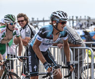 Le cycliste Peter Velits Image stock