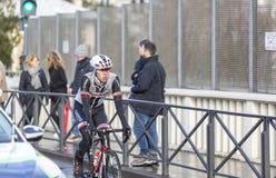 Le cycliste Phil Bauhaus - 2018 Paris-gentil photos stock
