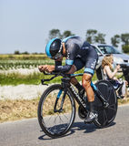 Le cycliste Richie Porte Photographie stock