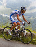 Le cycliste Roy Jeremy Images stock