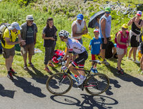Le cycliste Tom Dumoulin - Tour de France 2016 Photo stock