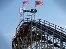 Le cyclone 82 de Coney Island Photos stock