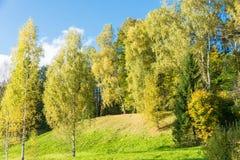 Le début de l'automne Photo libre de droits