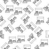 le début de l'icône de courses dans le style de modèle Un de l'icône de emballage américaine de collection peut être employé pour illustration stock