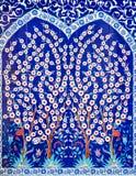 Le décor dans la mosquée Images libres de droits