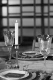Le décor de la table de fête Plan rapproché Rebecca 36 Photos libres de droits