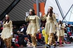 Le défilé 2008 du père noël Photo libre de droits