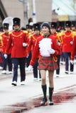 Le défilé 2008 du père noël Image libre de droits