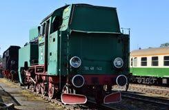 Le défilé annuel au sujet des locomotives à vapeur dans Wolsztyn, Pologne photographie stock libre de droits
