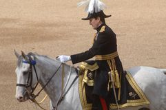 le défilé d'anniversaire des Reines Image libre de droits