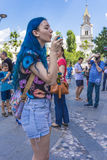 Le défilé 2015 de bulle Photos stock