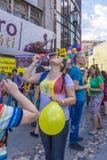 Le défilé 2015 de bulle Images stock