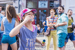 Le défilé 2015 de bulle Images libres de droits