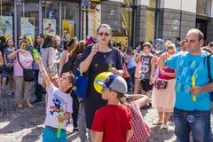 Le défilé 2015 de bulle Photo stock