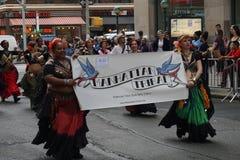 Le défilé 13 de danse de 2015 NYC Photographie stock libre de droits